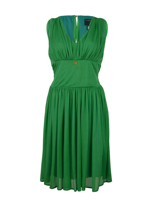 CLASS By Roberto Cavalli Green Dress