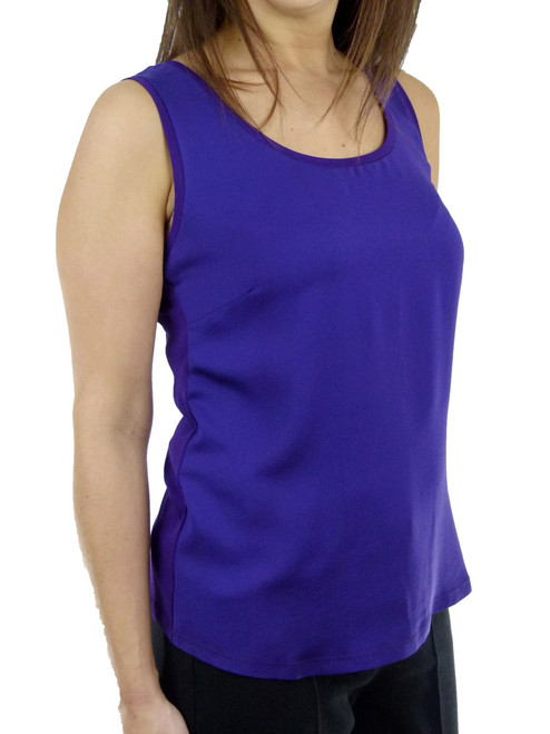 MAX MARA Sleeveless Silk Top