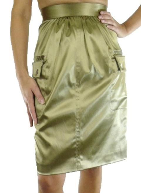 Dolce & Gabbana Satin Skirt