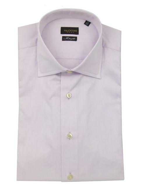Valentino Solid Lilac Shirt