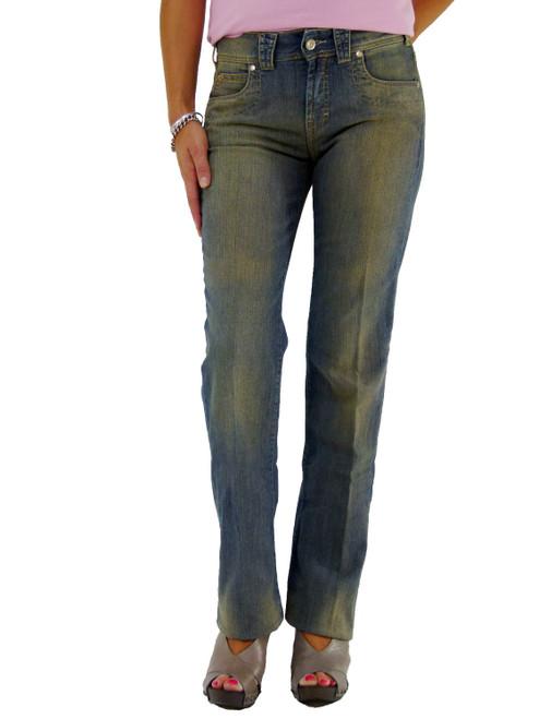 Trussardi Faded Stretch Jeans