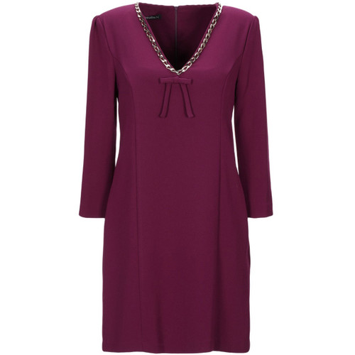 ANNARITA N V-Neck Dress