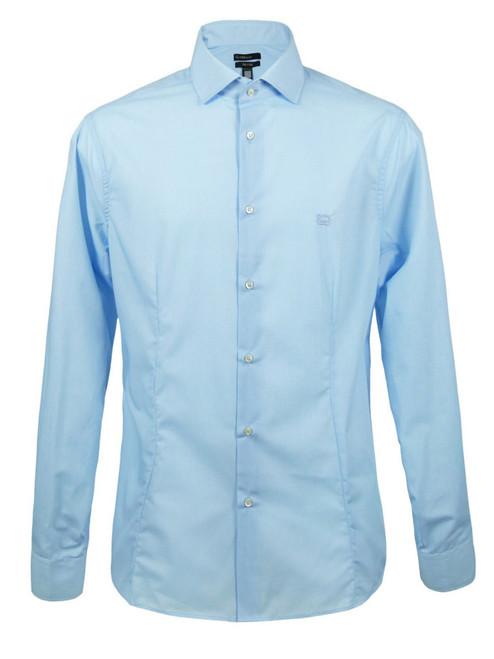 CLASS By Roberto Cavalli Men's Sky Blue Shirt