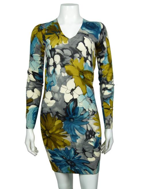 DOLCE & GABBANA Floral V-Neck Dress