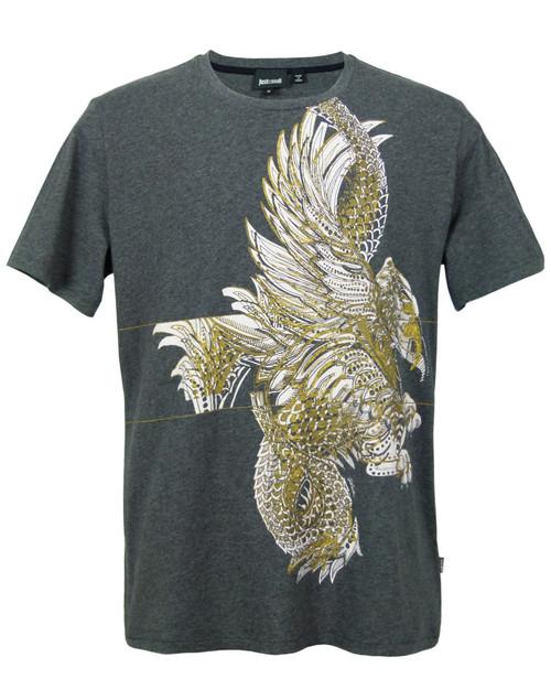 JUST CAVALLI Eagle print t-shirt