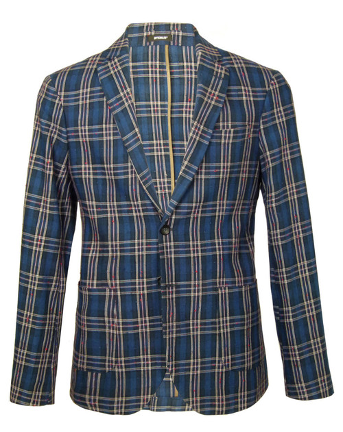 OFFICINA 36 Check Sports Jacket