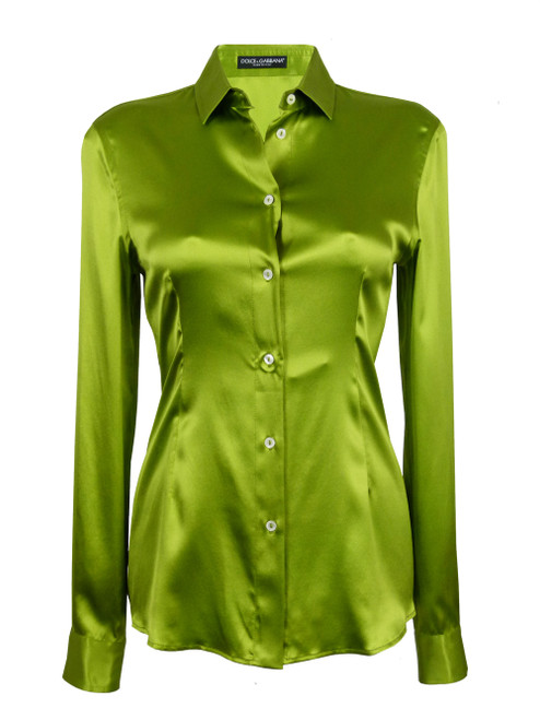 DOLCE & GABBANA Ladies Silk Shirt