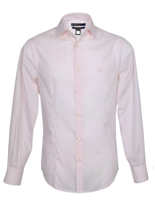 CLASS By Roberto Cavalli Men's Pale Pink Shirt