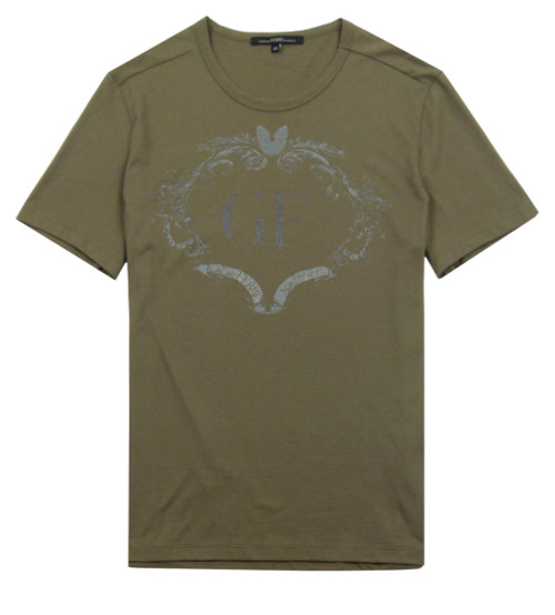 GIANFRANCO FERRE' Men's Khaki T-Shirt