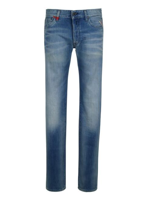 REPLAY Men's Regular Slim Jeans