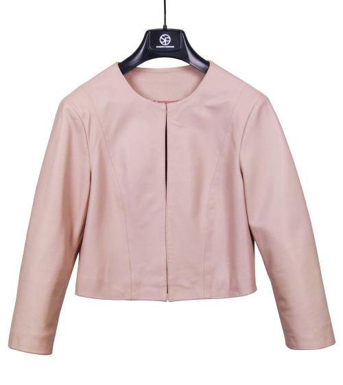 SANDRO FERRONE Leather Jacket
