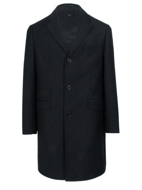 BUGATTI Men's Black Overcoat