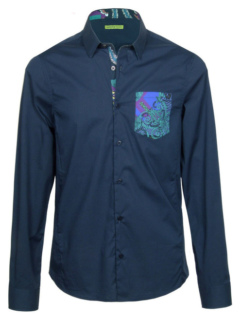 VERSACE Men's Patterned Shirt