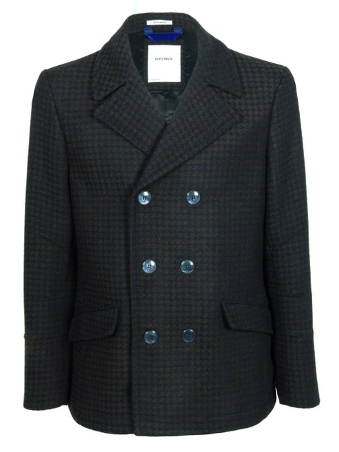 OFFICINA 36 Hounds Tooth Pea-coat