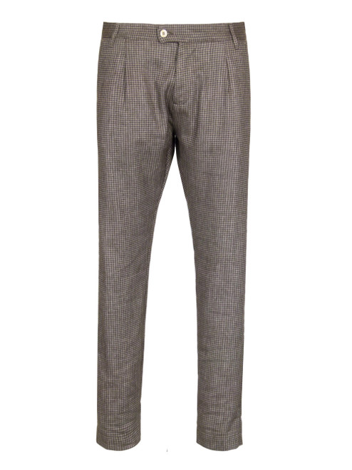 OFFICINA 36 Linen Trouser