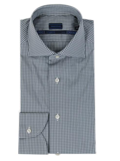 UNGARO Checked Slim Fit Shirt