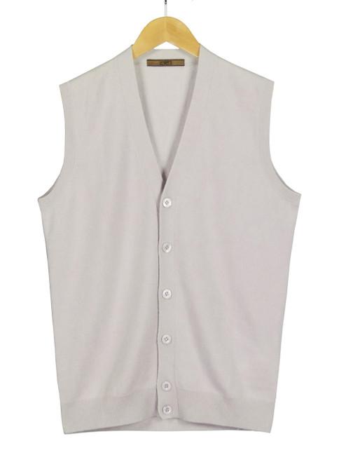 UNGARO Men's Pure Cashmere Vest
