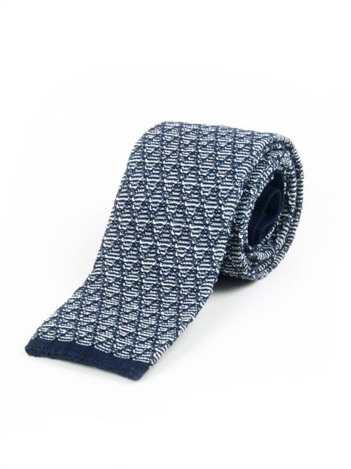 MANUEL RITZ Woven Cotton Tie