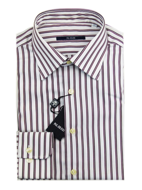 PAL ZILERI Classic Striped Shirt