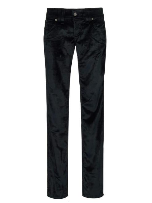 GALLIANO Velvet Ladies Pants