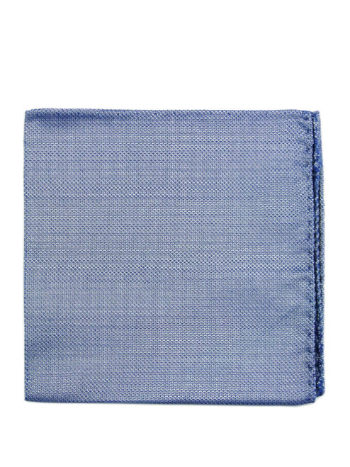 PAL ZILERI Blue Silk Pocket Square