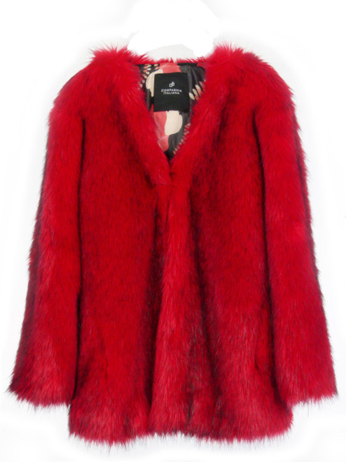 COMPAGNIA ITALIANA Faux Fur Jacket