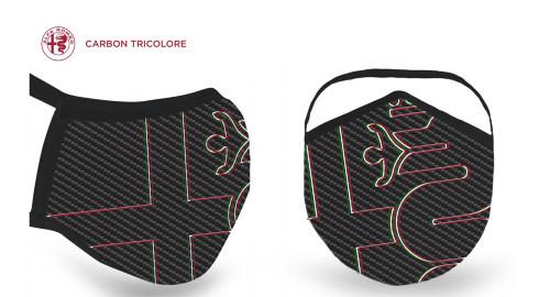 ALFA ROMEO Protective Face Mask (Carbon)