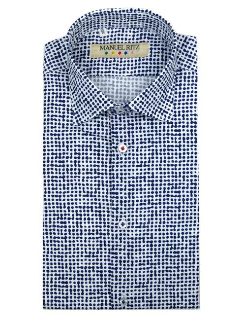 MANUEL RITZ Patterned Shirt