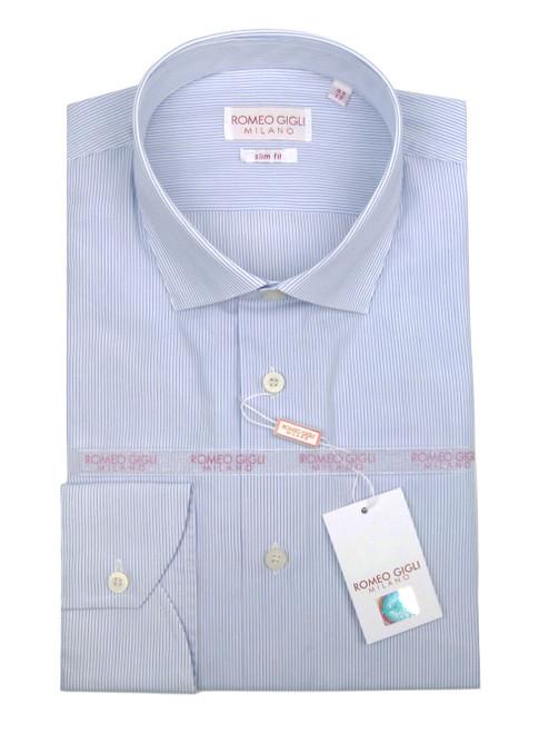 ROMEO GIGLI Fine Striped Shirt