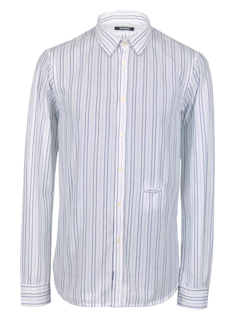 OFFICINA 36 Casual Striped Shirt