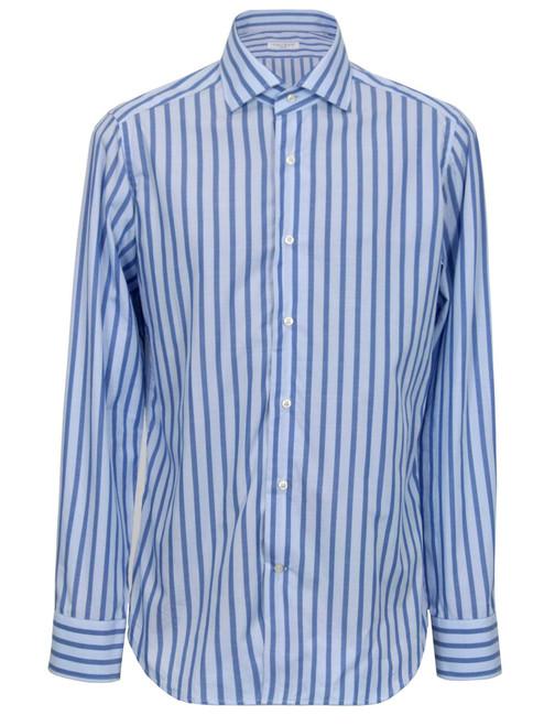 CALIBAN Striped Blue Shirt