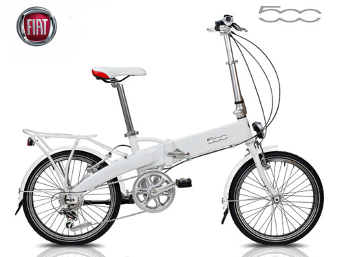 FIAT 500 Foldable Electric  Bicycle