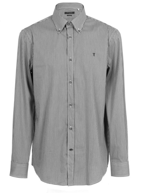 TRUSSARDI JEANS Check Shirt