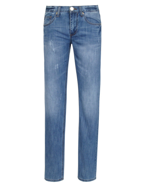 VERSACE JEANS Men's Medium Wash Jeans