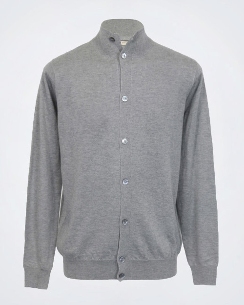 ANGELO NARDELLI Silk And Wool Men's Knit