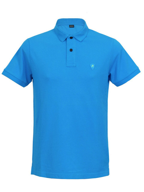 REPLAY Bright Blue Men's Polo Top