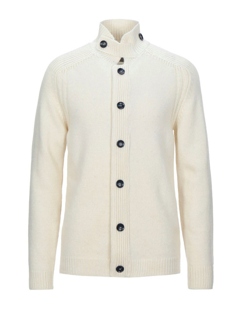 OFFICINA 36 Men's Ivory Cardigan
