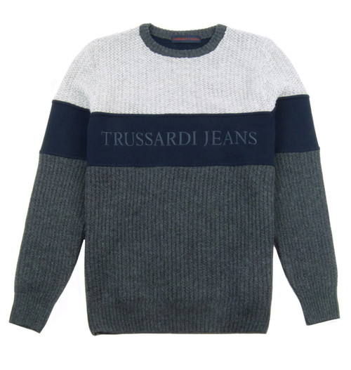 TRUSSARDI JEANS Crew Neck Knit