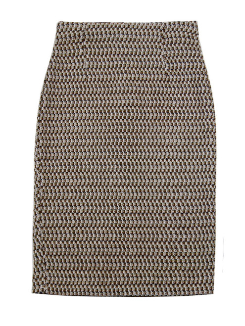 SANDRO FERRONE Knitted Pencil Skirt