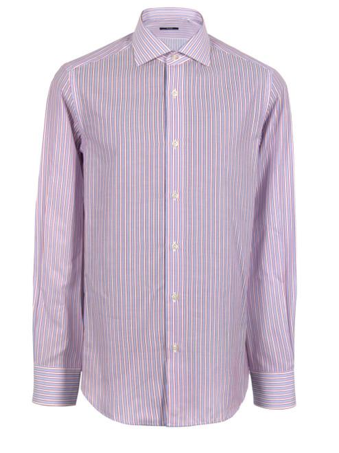 PAL ZILERI Striped Dress Shirt