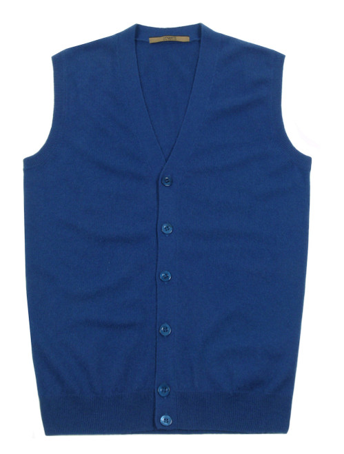 UNGARO Pure Cashmere Knitted Vest