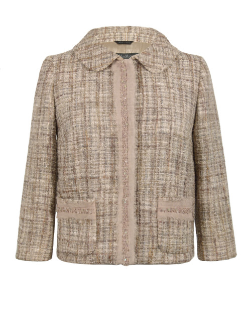 MAX MARA Cropped Tweed Jacket