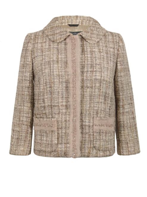 MAX MARA Cropped Tweed Jacket