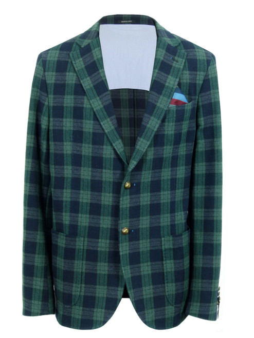 MANUEL RITZ Check Jacket