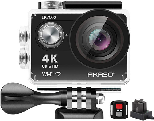 AKASO EK7000 4K Sport Action Camera Ultra HD Camcorder 12MP WiFi Waterproof Camera