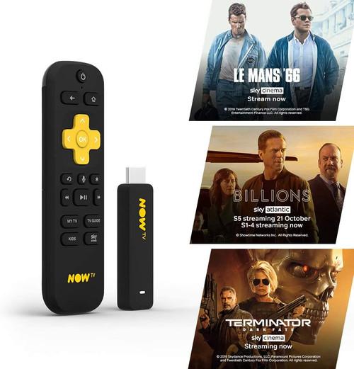 NOW TV Smart Stick HD Streaming Media Player – Watch Disney+, YouTube, Netflix, BBC iPlayer
