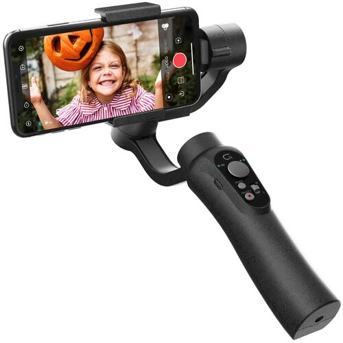 CINEPEER C11 Smartphone Gimbal, 3-Axis Handheld Gimbal Stabilizer