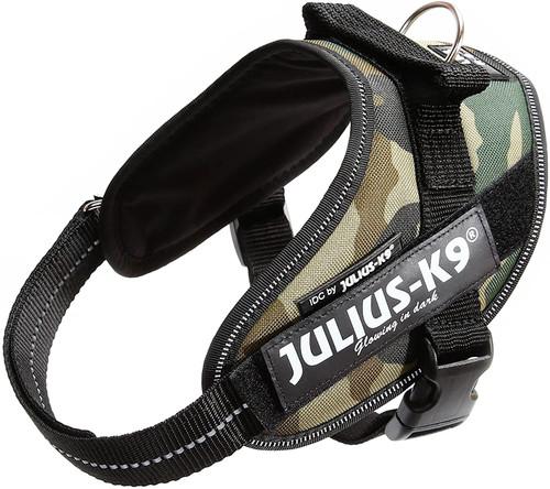 Julius-K9, 16IDC-C-M, IDC Powerharness, dog harness, Size: Mini, Camouflage