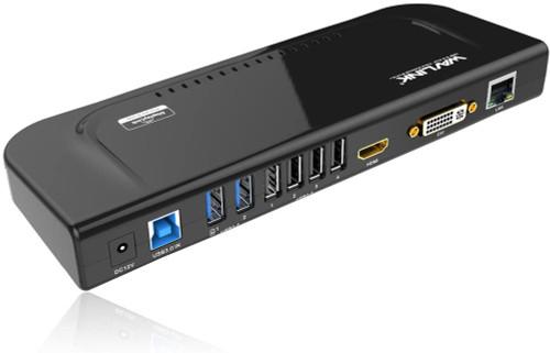 Wavlink Universal Docking Station Laptop USB 3.0 Dock with Dual Video Display
