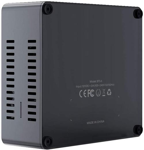Beelink BT3-X Mini PC,Intel Apollo Lake Celeron J3355 Windows 10 Mini Desktop Computer